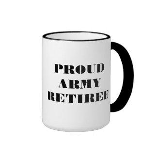 Mug Proud Army Retiree