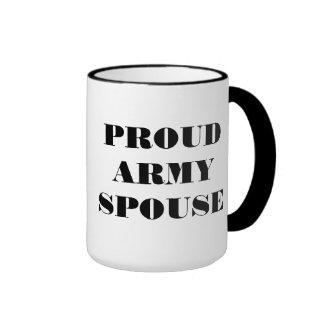 Mug Proud Army Spouse