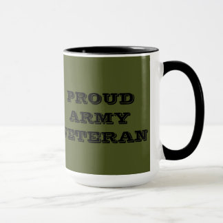Mug Proud Army Veteran