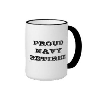 Mug Proud Navy Retiree