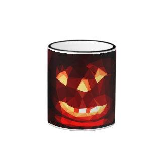 Mug pumpkin low poly