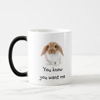 Mug/Rabbit Morphing Mug