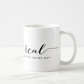 Mug: Real — From the inside out Basic White Mug