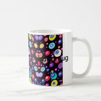 Mug - Retro bubbles