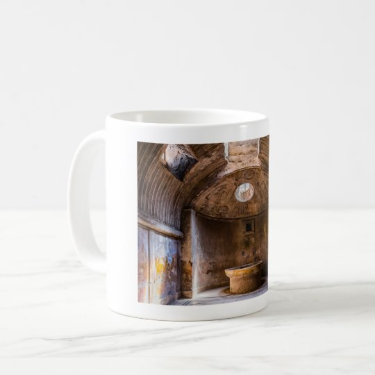 Mug - Roman Baths - Ancient Pompeii, Italy
