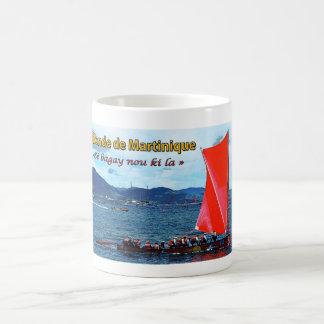 Mug: Round skiff of Martinique Basic White Mug