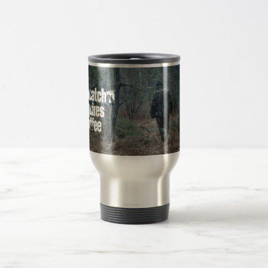 MUG ~ Sasquatch'n Requires Coffee Tracking Yeti