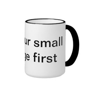 mug saying advice words wise