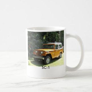 mug, SC-1 Basic White Mug