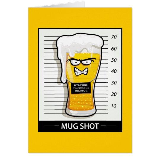 Mug Shot Card