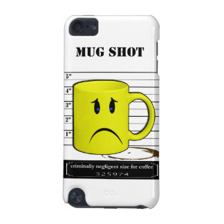 Mug Shot Coffee Mug Cup Cartoon Meme iPod Touch (5th Generation) Case