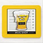 Mug Shot Mouse Mat