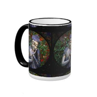 mug | Silver Buddha Black