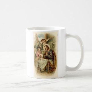 Mug: St. Joseph Nativity Basic White Mug