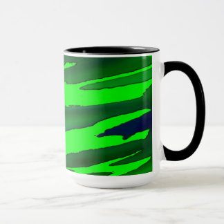 Mug. Stylised Camouflage effect. Mug