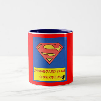MUG - TAZZA SNOWBOARD CLUB SUPERIDERS 2