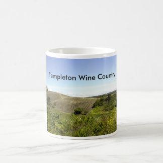 Mug: Templeton CA Wine Country Basic White Mug