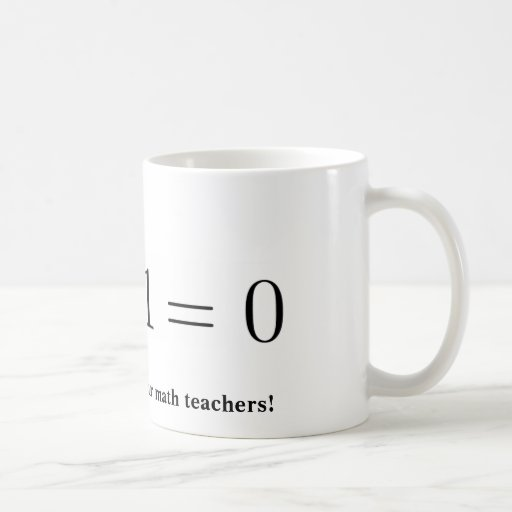 Mug: Thank your math teacher Basic White Mug