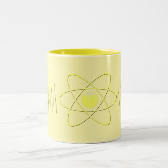 Mug The Mighty Atom 50s Vintage Retro YELLOW +200