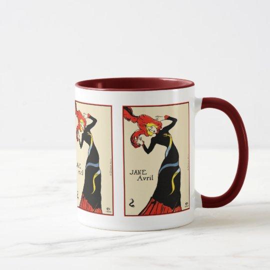 Mug: Toulouse Lautrec - Jane Avril Mug