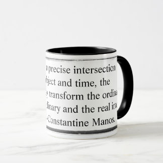 Mug transform the ordinary into extraordinary Mano