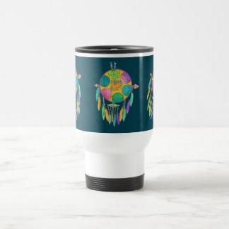 Mug, travel southwestern mandala travel mug