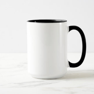 mug two tone with logo facing out