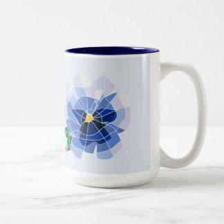 Mug Violet Vitral
