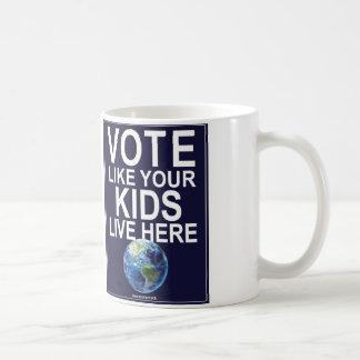 Mug - Vote Like Your Kids Live Here