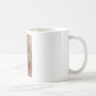 Mug 'watercolour tween flowers'