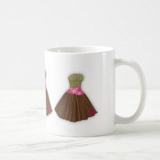 mug wearing the ugly dress