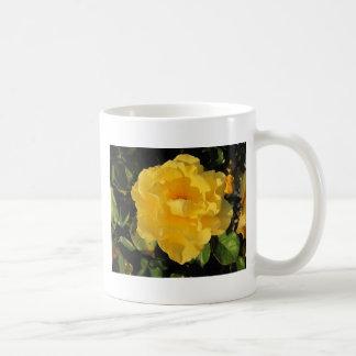Mug: Welcoming Yellow Rose