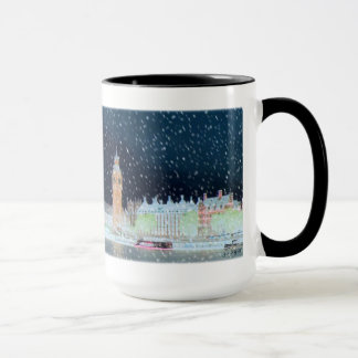 Mug - Westminster Abbey and Big Ben Altered Photo