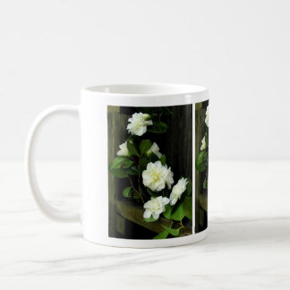 MUG, WHITE CAMELLIAS COFFEE MUG