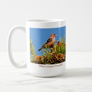 Mug, White-winged Crossbill Coffee Mug