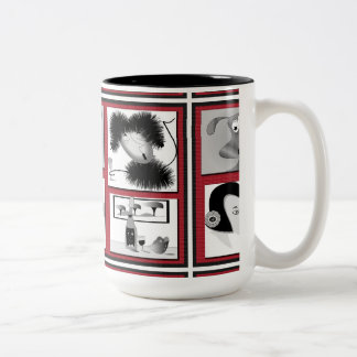 """Mug """"wine characters"""""""
