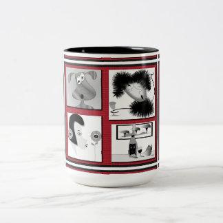 "Mug ""Wine collage"""
