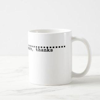 Mug with a fill line
