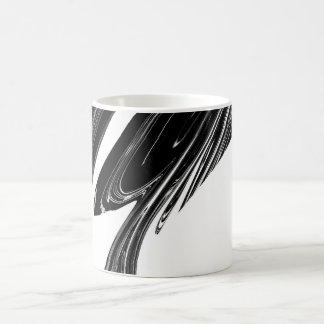 Mug with bold Graphic pattern in Black and White