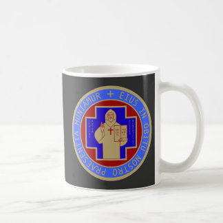 Mug with Both Faces of the St. Benedict Medal