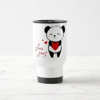 "Mug with cover ""Love You Panda """