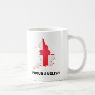 Mug with England map and text Proud English