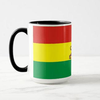 Mug with Ethiopian Flag with Lion of Judah!