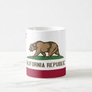 Mug with Flag of  California State - USA