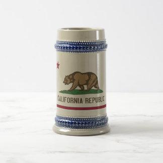 Mug with Flag of  California State -USA