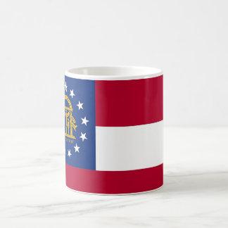 Mug with Flag of  Georgia State - USA