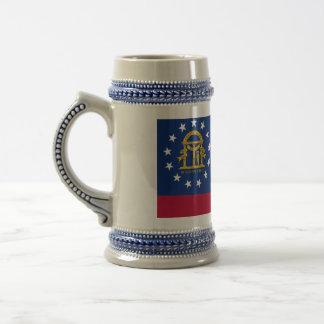 Mug with Flag of  Georgia State -USA