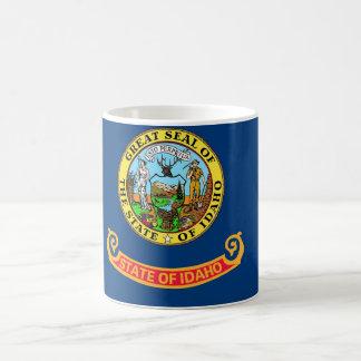 Mug with Flag of  Idaho State - USA