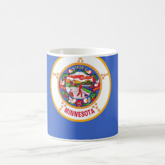 Mug with Flag of Minnesota State - USA