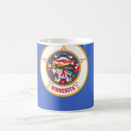 Mug with Flag of Minnesota State - USA